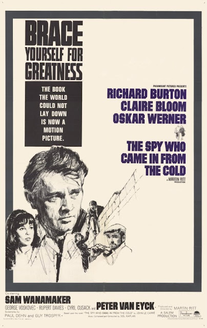The Spy Who Came in from the Cold, poster, starring Richard Burton, Directed by Martin Ritt