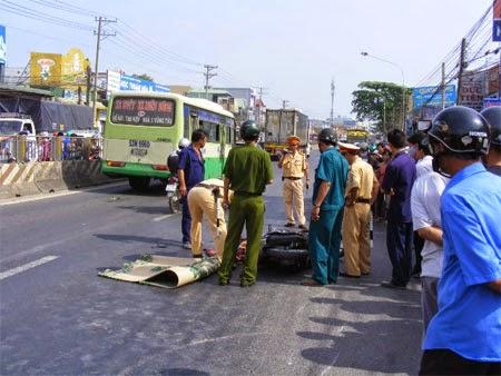 Gia Lai: 24 giờ truy tìm xe ô tô gây tai nạn