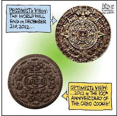 Pessimist's View vs Optimist's View
