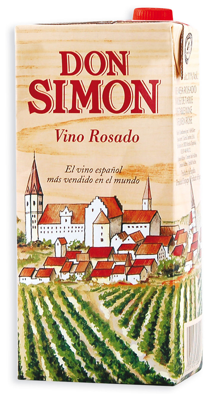 Vino Don Simon Rosado