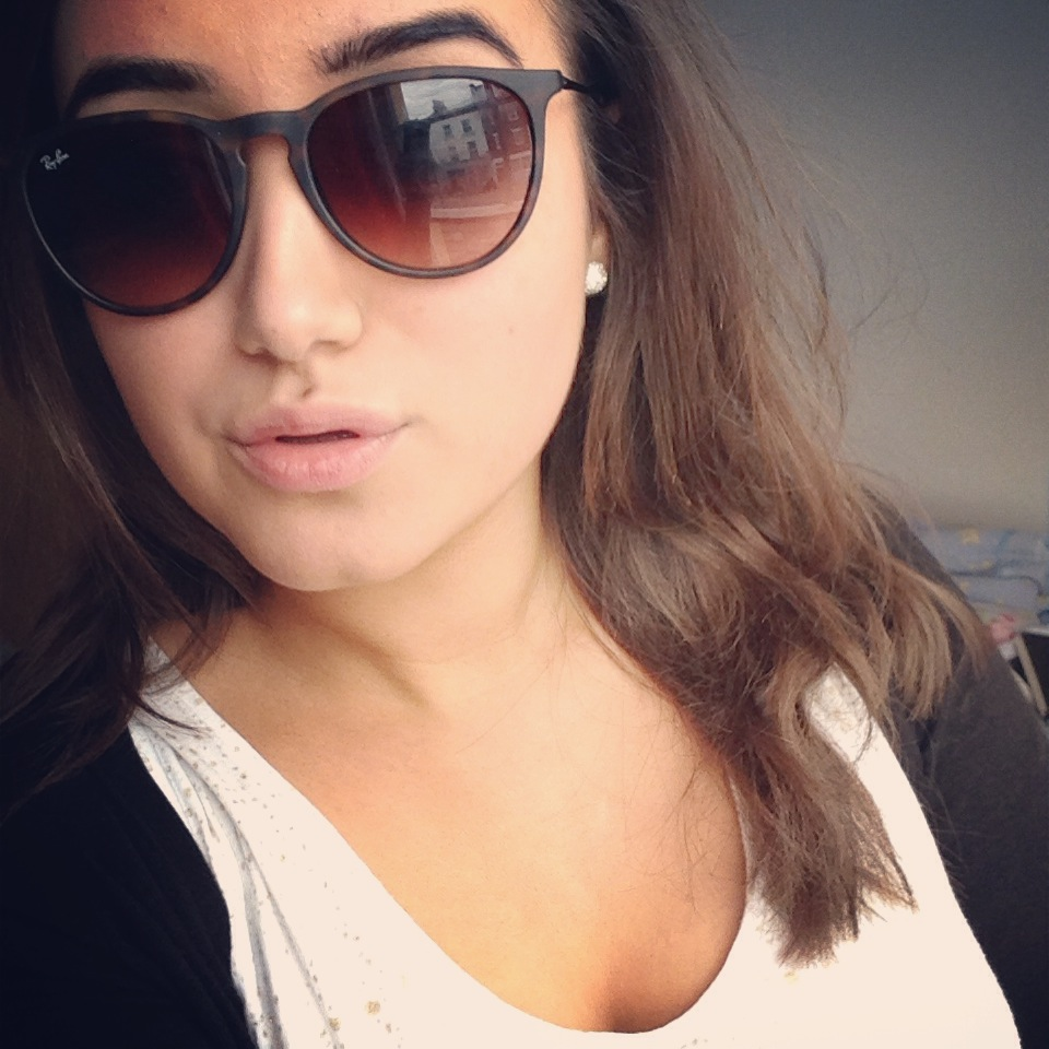 e6ad516fba SmartBuyGlasses is giving one lucky reader of A Little Obsessed a free pair  of Ray Ban Erika sunglasses in the color of their ...