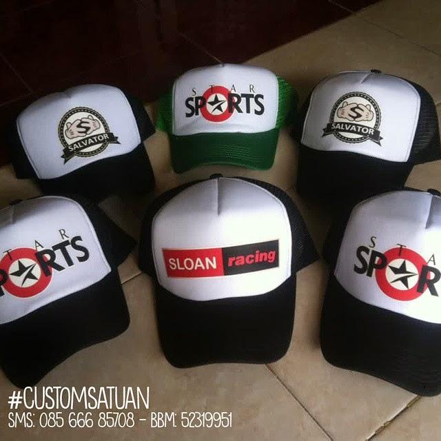 Jasa Pembuatan Topi Custom Design Bebas Tanpa Minimum Order