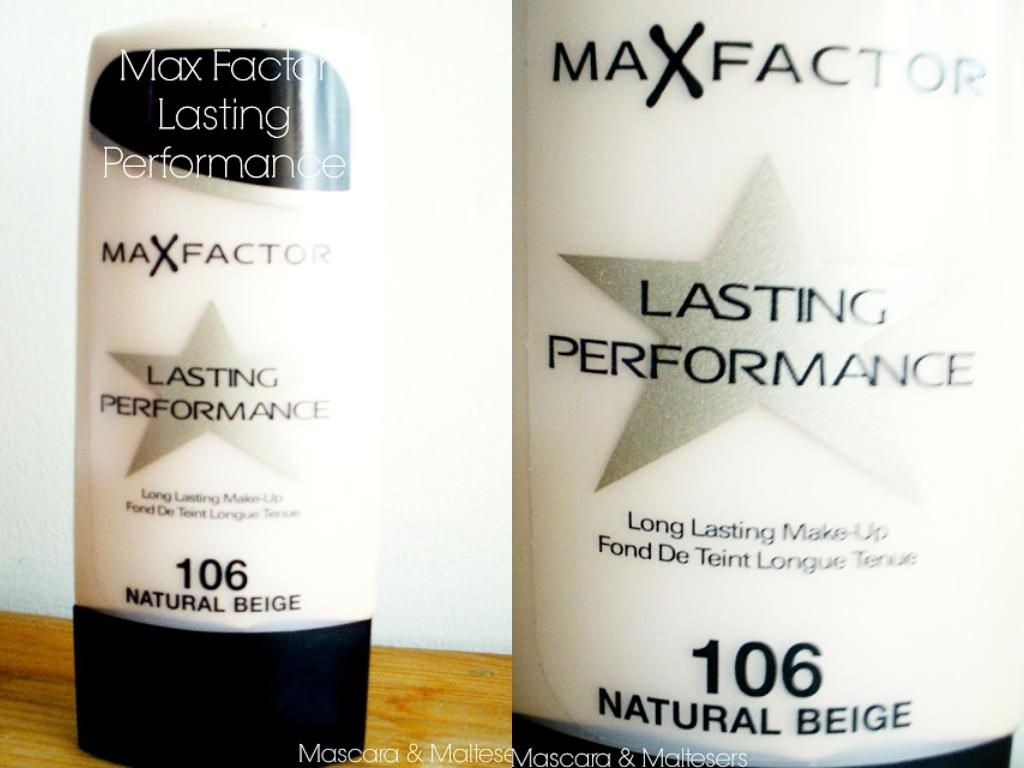 Max Factor Lasting Performance Foundation