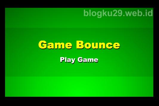 tampilan game bounce