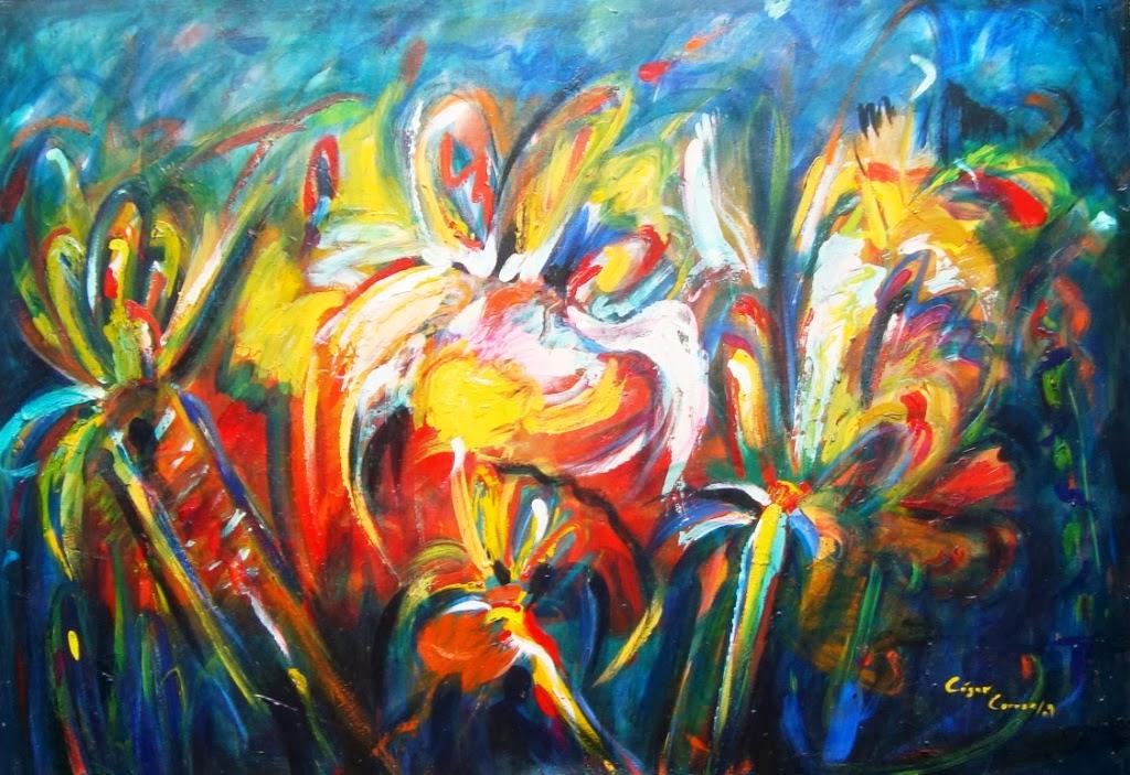 Cuadros modernos pinturas y dibujos cuadros modernos de for Imagenes de cuadros abstractos rusticos