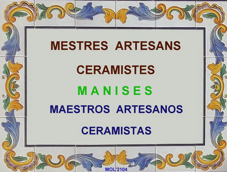 MAESTROS ARTESANOS CERAMISTAS