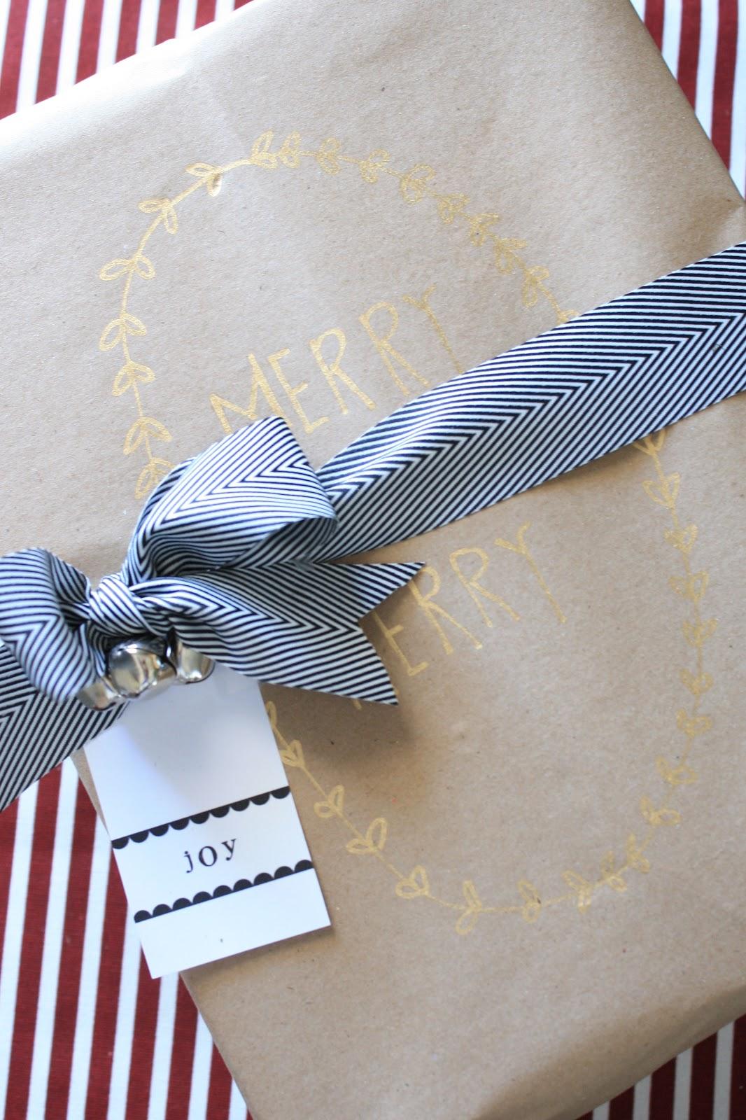 Custom Gift Wrap Ideas Using Kraft Paper House Of Jade
