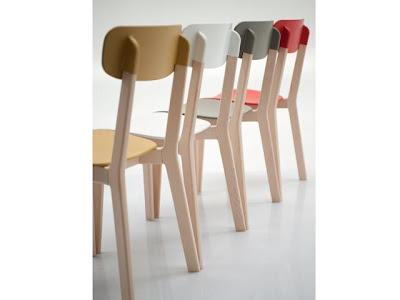 sedia calligaris legno