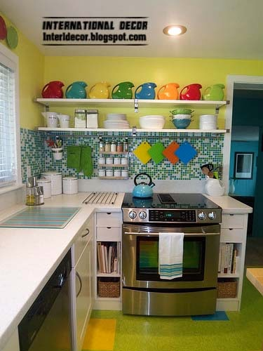 Case In Color, Small Kitchen Solutions