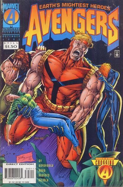 Avengers 393 Cover