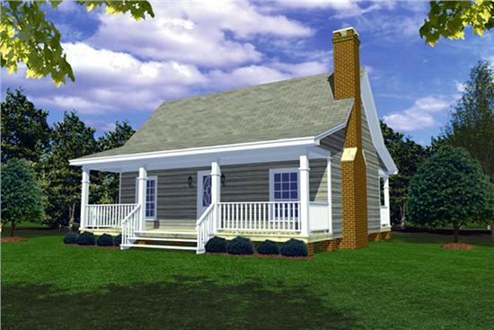 New home designs latest small home designs for Small country cottage house plans