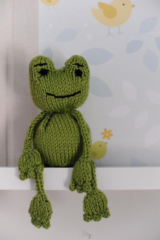 Knitted Frog Pattern Ipaafo For