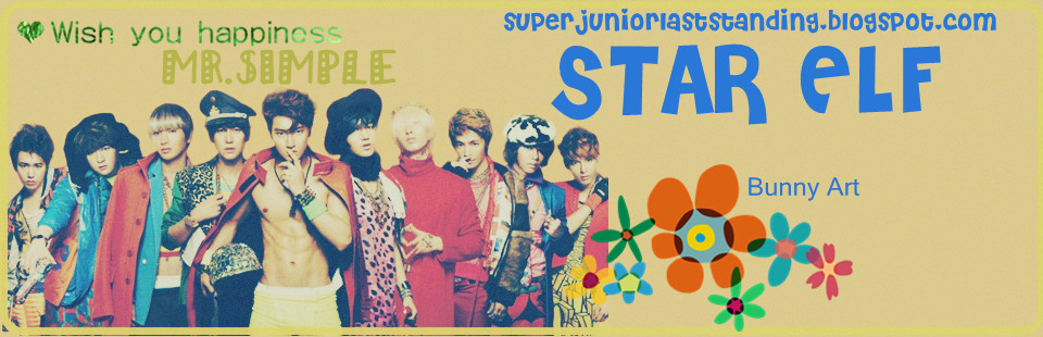SUPER JUNIOR - STAR ELF