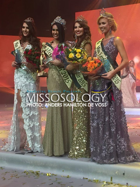 Angelia Ong Miss Earth 2015 Grand Winner
