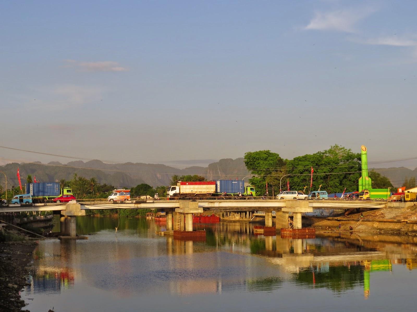 Jembatan Pangkajene (Foto / Admin Bingkai Fotografi)