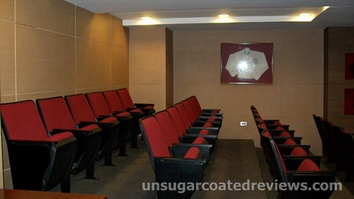 seats at the Center for Culinary Arts (CCA)-Manila USDA Theater