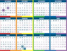 Calendario Escolar 15 /16