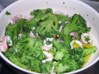 broccoli con calamari