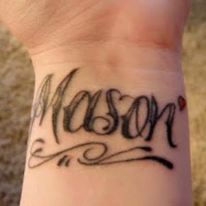 girl tattoo designs on wrist