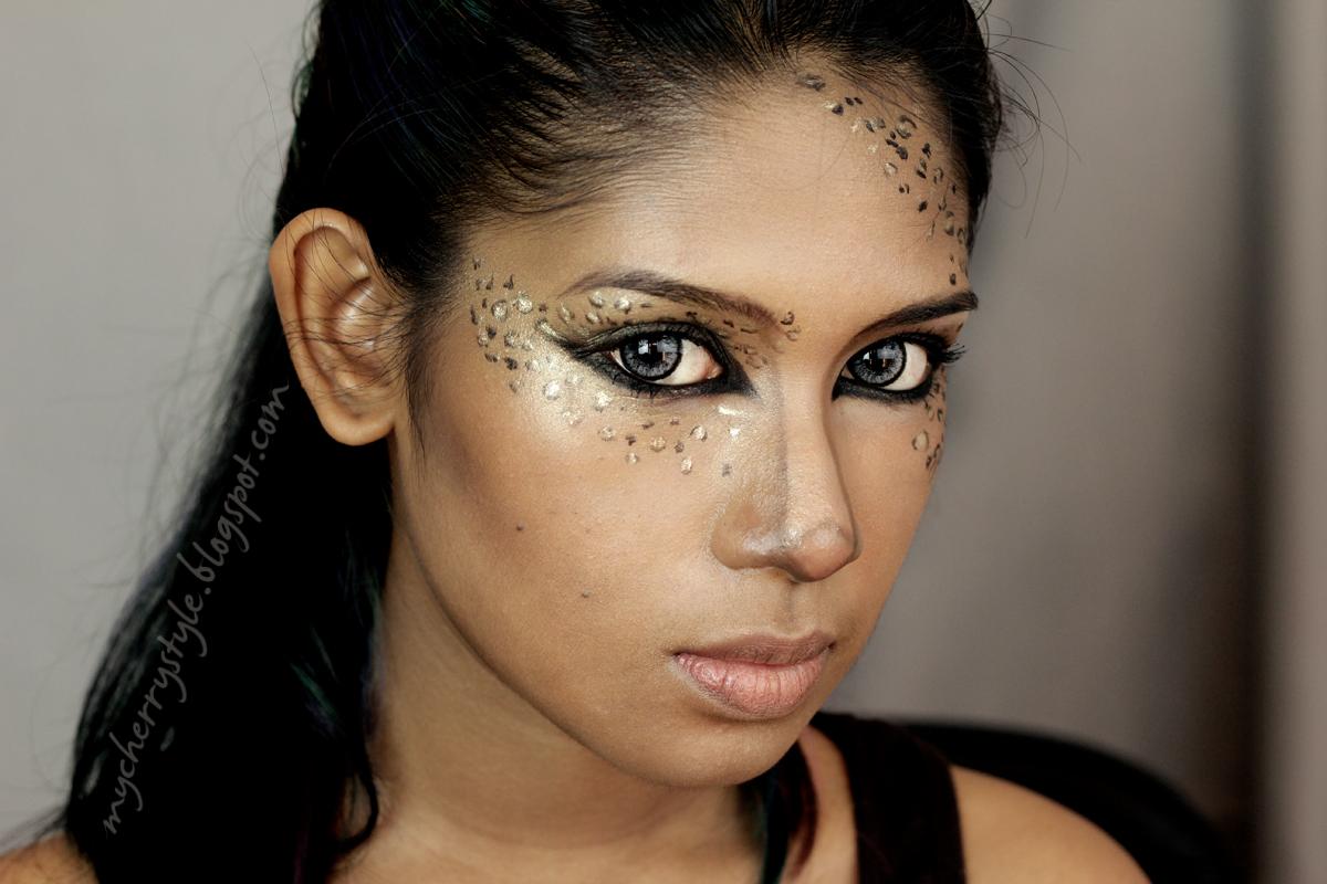 Creative Makeup Leopard Print Smokey Eye Tutorial My Cherry Style