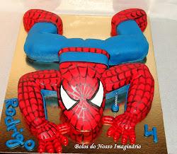 Bolo Homem Aranha 3D