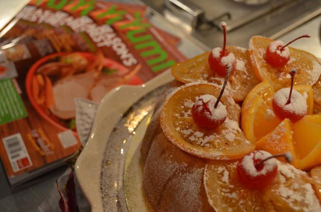 Glazed Orange Pound Cake Recipe