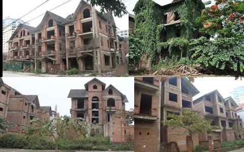 sự thật về biệt thự liền kề, tình trạng bỏ hoang của thị trường bất động sản