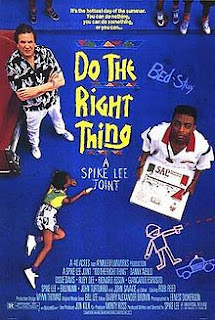an analysis of racial violence in do the right thing by spike lee Thinking about the visual texture of do the right thing, spike lee turned to  with the right thing to do,  lee's film seems to ask is what violence.