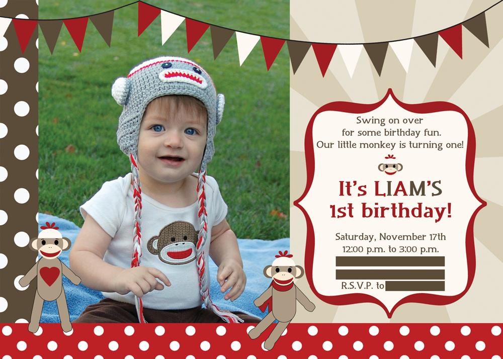 Sock Monkey Birthday Party | The Redhead Baker