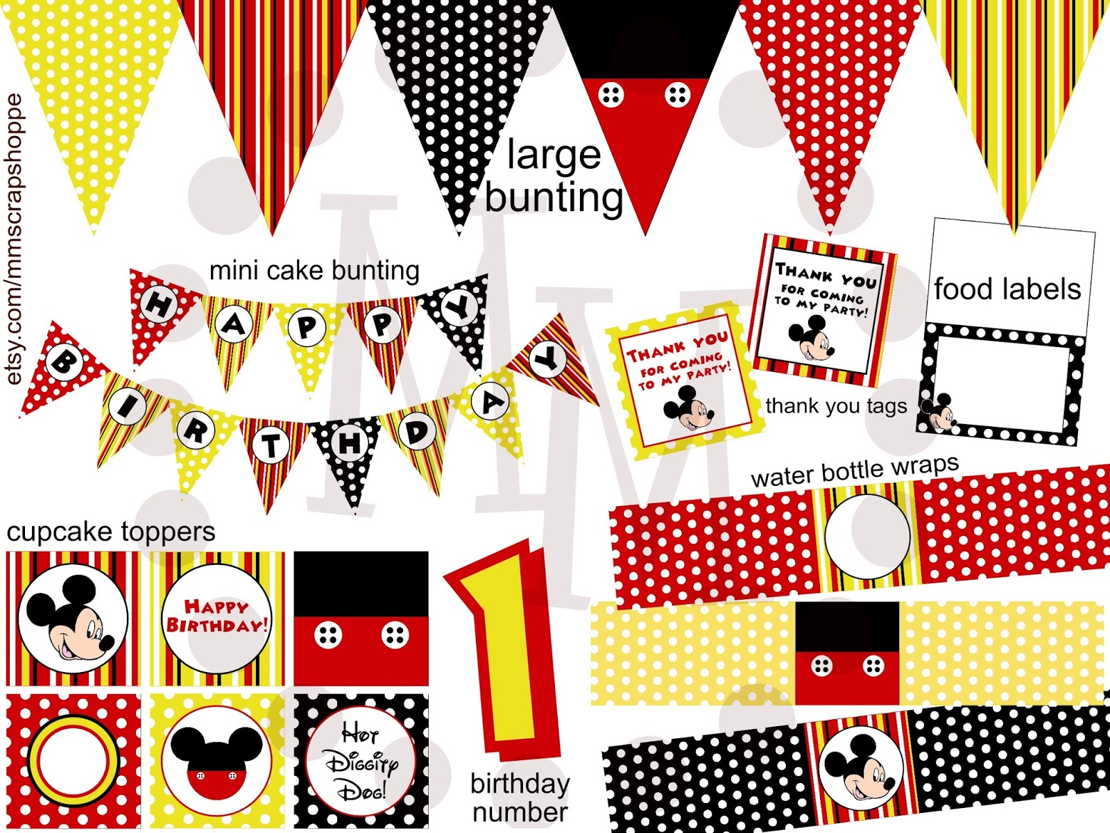 Fabulous I am also offering a nd version of the Mickey Mouse birthday invitation that will allow for a photo of the birthday boy or girl to be added