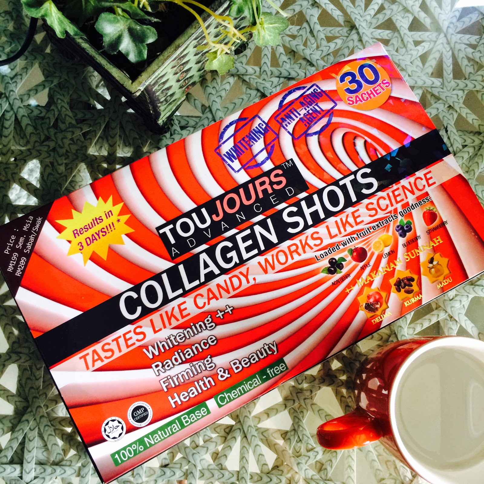 TOUJOURS ADVANCED COLLAGEN SHOT ORIGNAL