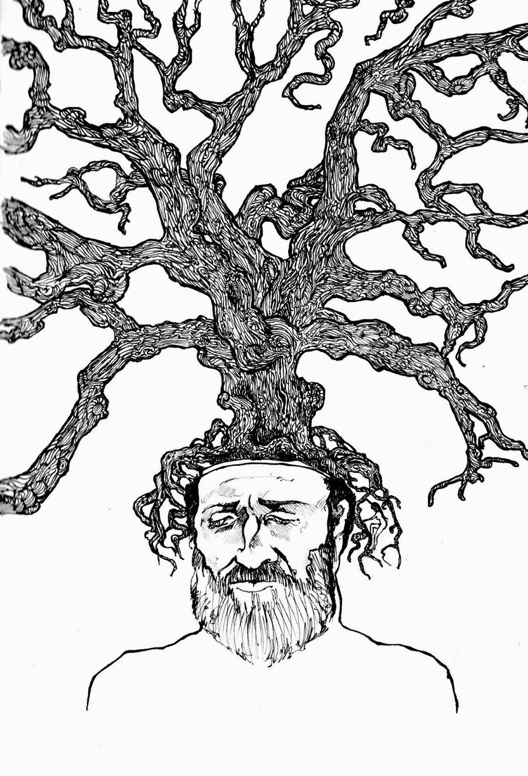 Tree Ring Drawings Root Bark Tree Ring Love