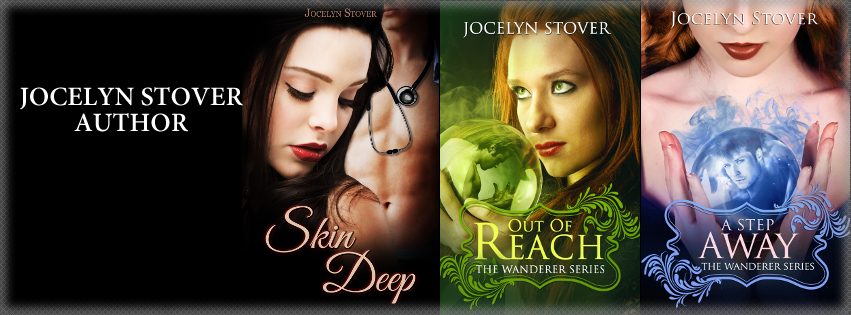 Jocelyn Stover Urban Fantasy, Paranormal Fiction Author