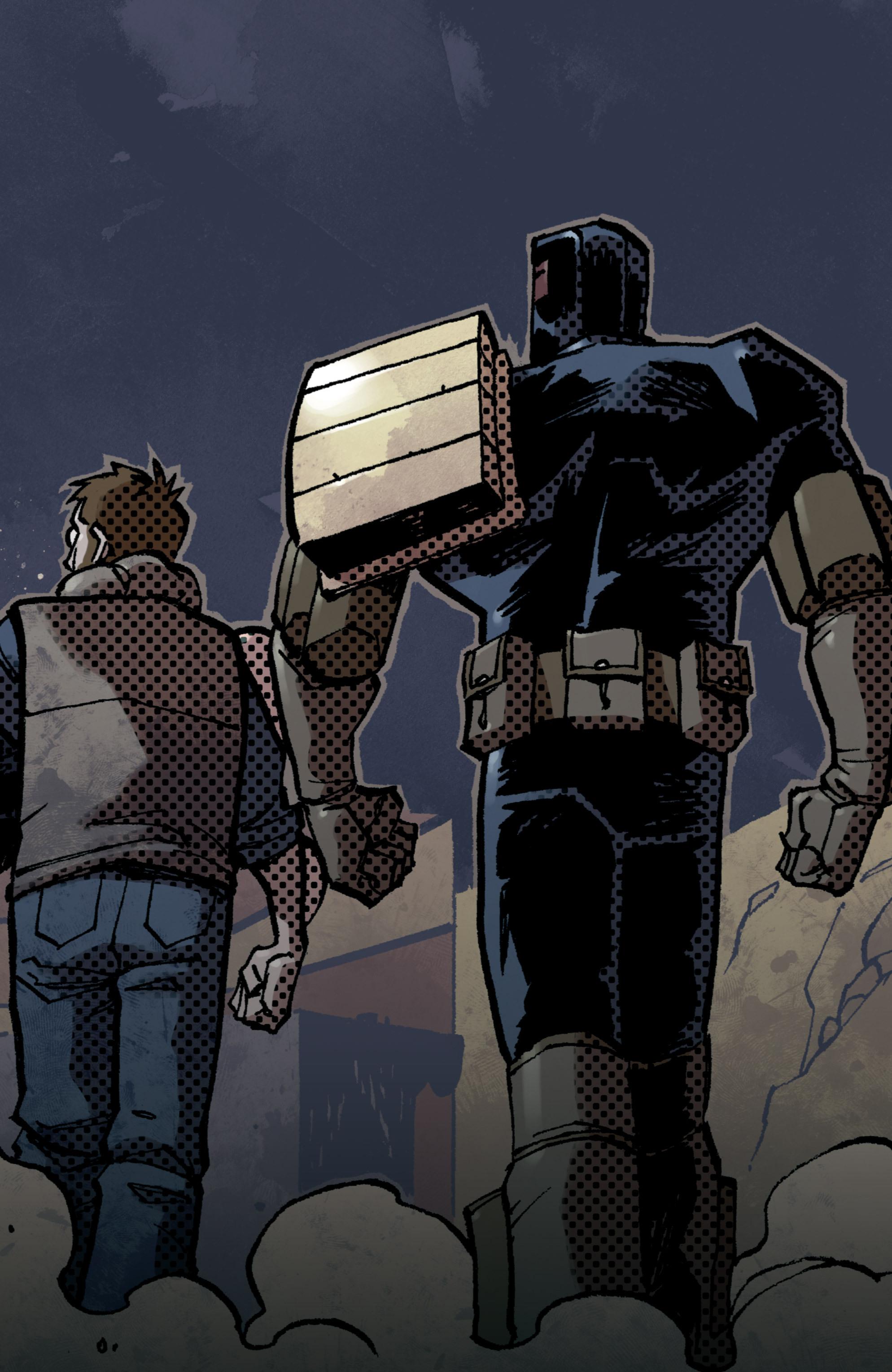 Read online Judge Dredd (2012) comic -  Issue # _TPB 3 - 4