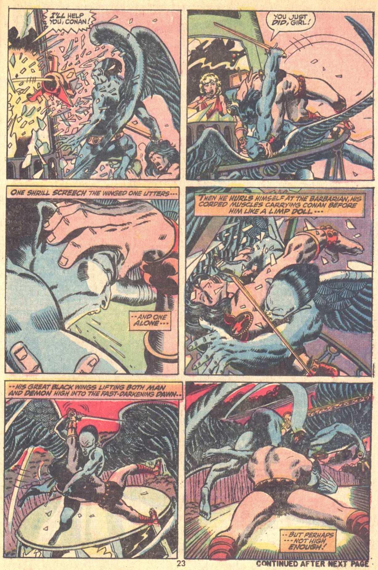 Conan the Barbarian (1970) Issue #9 #21 - English 17
