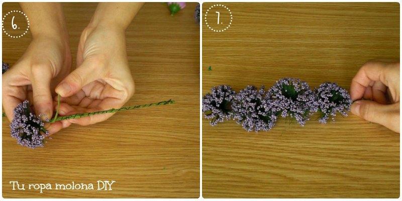 Colocar las flores