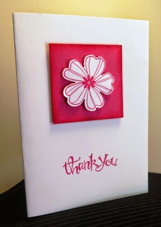 From Let's start at the very beginning -Punched out flower zena kennedy independent stampin up demonstrator