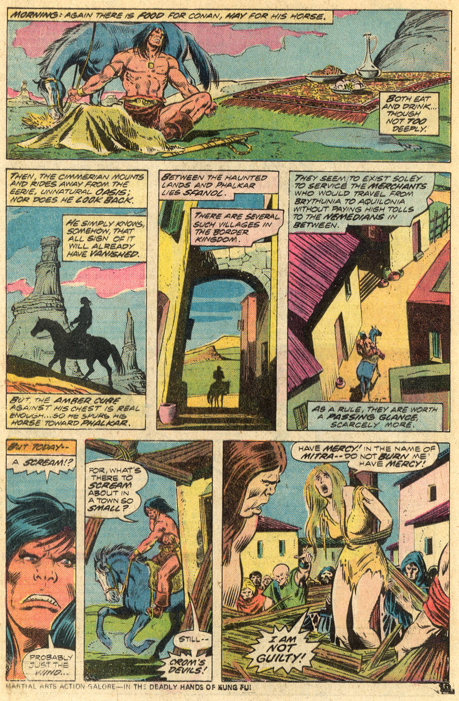 Conan the Barbarian (1970) Issue #46 #58 - English 7