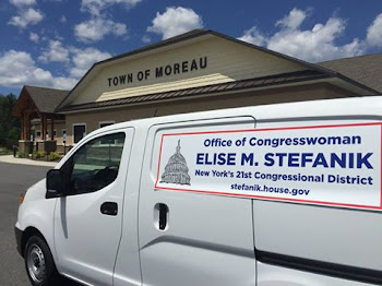 As Promised....Rep. Stefanik Has Mobile Office for Small Town Visits