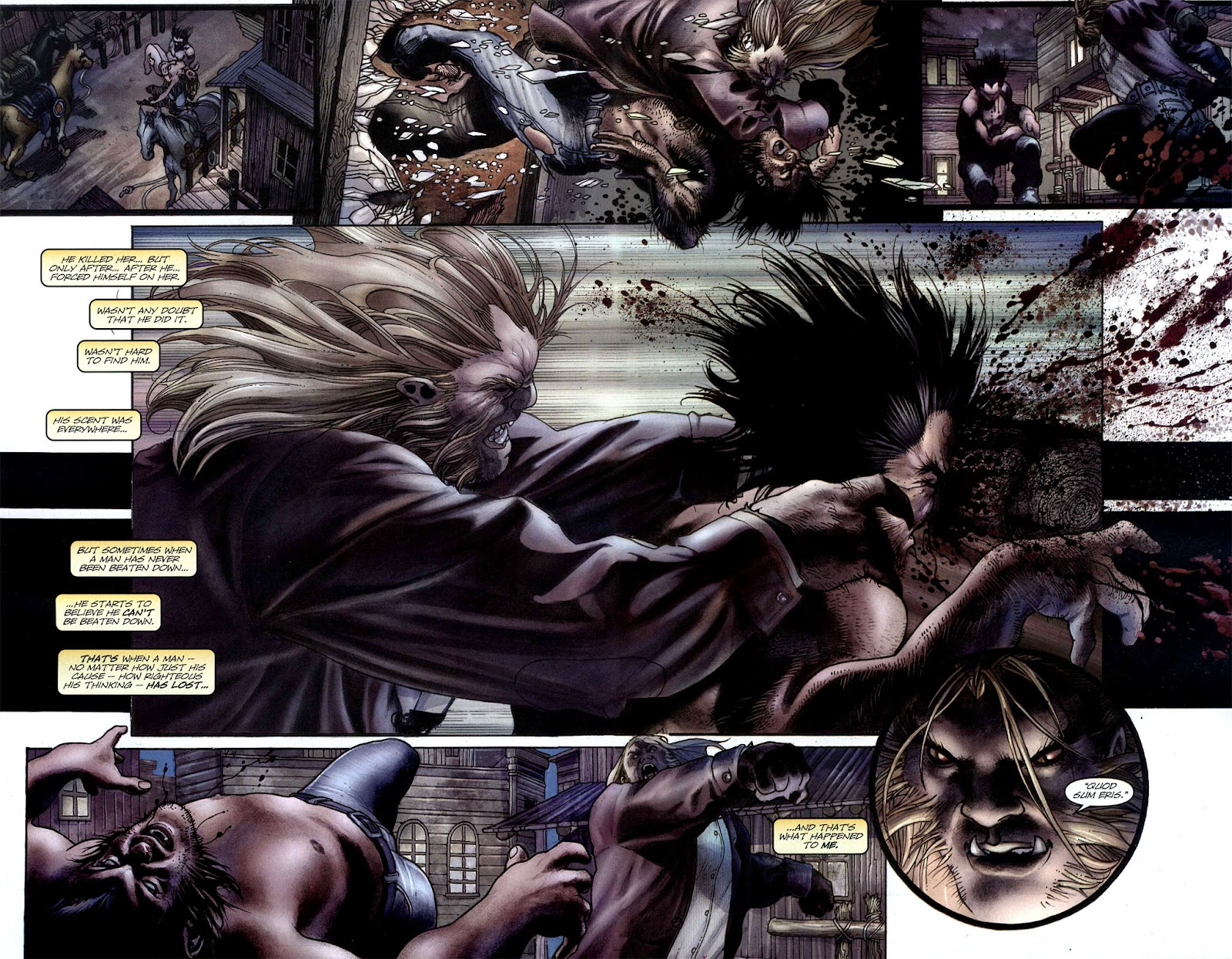 Read online Wolverine (2003) comic -  Issue #50 - 17