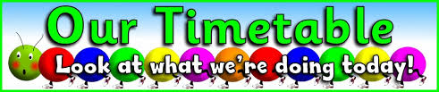 Children's Timetable