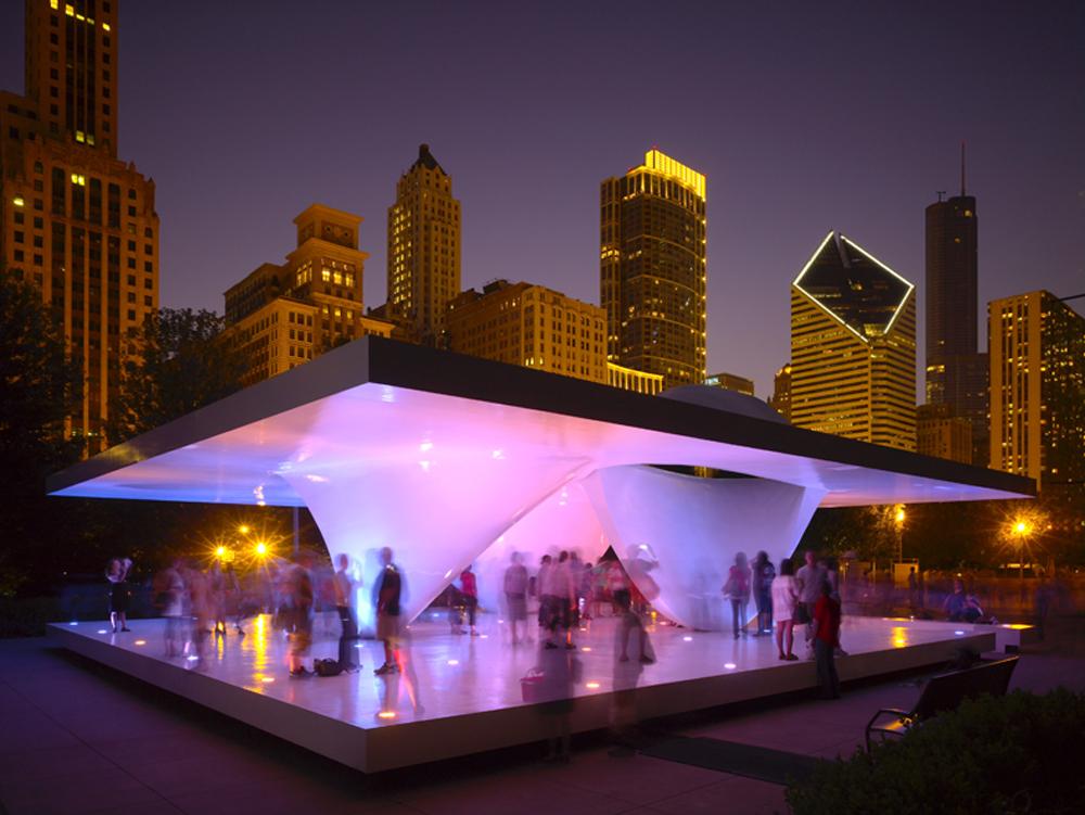 Vivo Arquitectura: Pabellón Burnham - Chicago, EUA