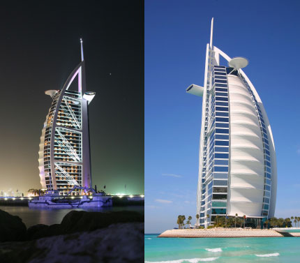 Burj al-Arab Hotel in Dubai | ARCHITECTURE