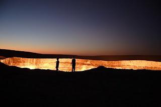 Lubang Api - 10 Keajaiban Alam Yang Misterius