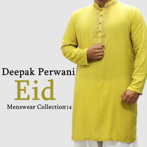 Deepak Perwani Eid Kurta 2014