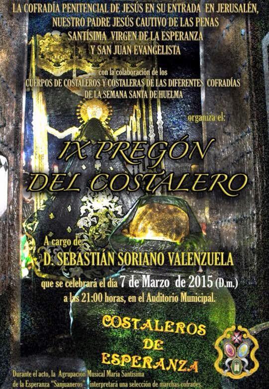IX PREGON DEL COSTALERO 2015