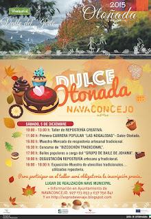 DULCE OTOÑADA  Sábado 5 de diciembre en Navaconcejo
