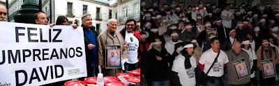 Concentraciones para exigir el indulto a Reboredo