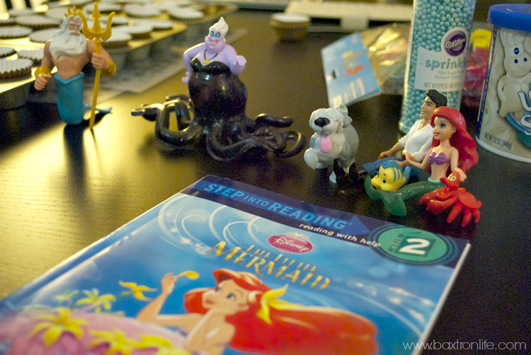The Little Mermaid Story Play Set & Story Book from Disney Walmart #Shop