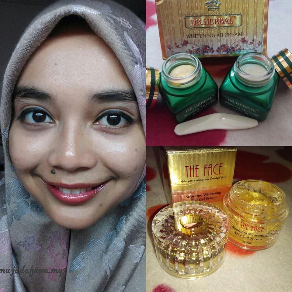 citra mulia kosmetik, review kosmetik citra mulia, dr. herbal, the face